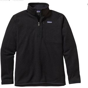 NWT Mens Patagonia 1/4 Zip Better Sweater Pullover